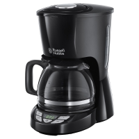 Digital black coffee maker Russell Hobbs