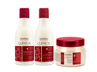 treatment Quimica group. Pre-chemicals. Protect hair from pigments, blemishes and damaged hair. Amazon Forest Fruits Products