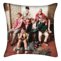 BTS Soft Pillow Double Style