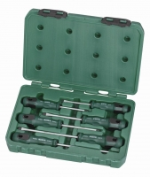 6Pc. T Series Screwdriver Set  Slotted Phillips Tips