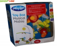 playgro toy box musical mobile