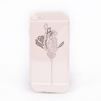 Cover Iphone 7 transparent plastic crystal attractive
