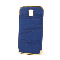 Cover Samsung J7 Prime plastic with frame metal