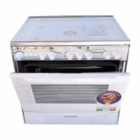Technokaz cooker five burners 60 90