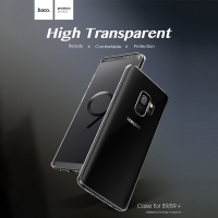 Cover Samsung Galaxy S9 Rubber transparent