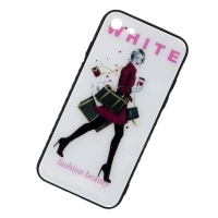 Cover iPhone 7 plastic For Girls attractively