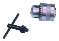 Drill Chuck with Key -6.5MM  3 8  Mount
