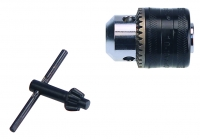 Drill Chuck with Key 1-1MM  3 8  Mount