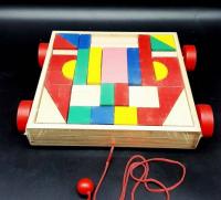 Wooden cube cubes for children