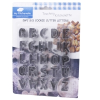 my kitchenet Pastry molds Letters x26pcs