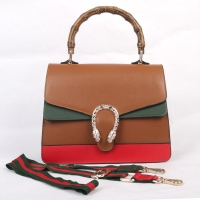 A beautiful women bag with a stylish handle