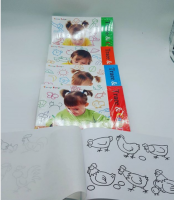Drawing book for children Drawing with transparent paper