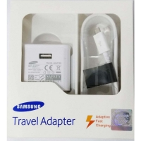 Samsung Adaptive Fast charging 3 Pin Wall Charger with Cable original