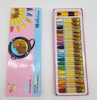 Pastel colors with 18 color pen grip