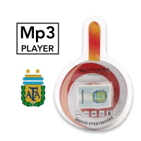 MP3 Player Argentina Club With Headphone