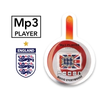 MP3 player England with a headset