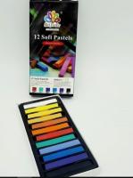Pastel colors chalk 12 colors