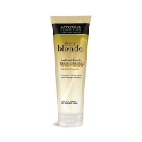Conditioner treats and maintains blond hair