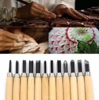 Wooden Carving Set for Carving Wooden and Wood 12 Tool