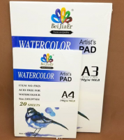 Water Drawing Book 190 g 20 Sheet Size A3