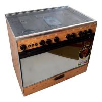 Cooker Techno Kaz 6 Burners 60 90