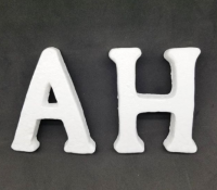 Flint characters are available in all letters   Measure 15 cm