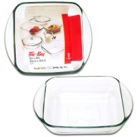 anchor Thermal Glass Plate   2L  - 20x 20cm