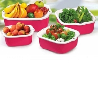 Vegetable basket 8 pieces plastic