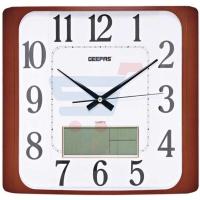 Geepas Wall Clock Taiwan Movmnt Lcd Display