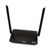 TRENDnet Wireless N300 Home Router High Power 5dBi Antennas  Pre-Encrypted  Internet Bandwidth Control  LAN Ports  WAN Port  IPv6 TEW-731BR