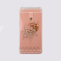 Cover Samsung Galaxy  A8  2018  Transparent plastic