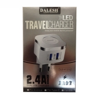 Charger 3-pin fast 3USB with cable1m iPhone DALESH