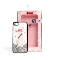 Cover iPhone 7 transparent attractive and distinctive XO