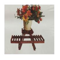 Wooden rack distinctive