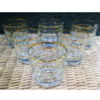 Cup water glass x6pcs