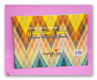A 20 cm colored indonesian drawing book
