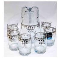 Dimlaj Glass jug with cup