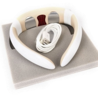 Massage and natural treatment for neck pain with Bluetooth