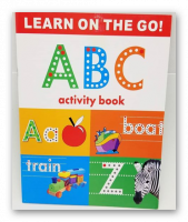Book Whiteboard Write and erase to teach letters and English words