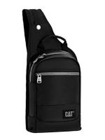 Caterpillar Unisex Shoulder Bag  Black