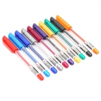Flair Glitter Gel Pen - 10 Pcs