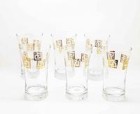 Glass Dimlaj Set 6pcs