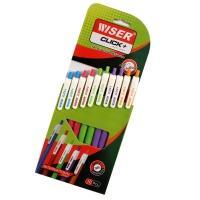 WISER Click  Ball Pen - 10 Pcs