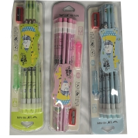 Set pencil with cut