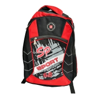 School bag with multiple pockets