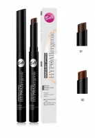 Bell Brow Modelling Stick Eyebrow Ideal Shape Hypoallergenic Wateproof 2 Shades 01 Deep Brown
