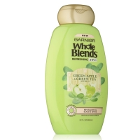 Garnier Whole Blends 2in1 Shampoo with Green Apple 650 ml