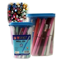 Pack of colored pencils number 50 pen wiser roll on