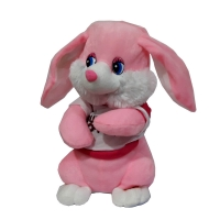 A rabbit doll with a battery 30 cm