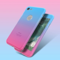Cover  phone colorful and distinctive of iPhone contain two pieces front and back